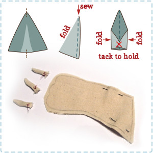 How to make the Claws for the original Griffin Kitten pattern