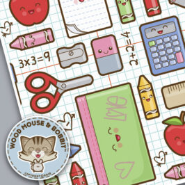 Spoonflower – School Supplies Contest