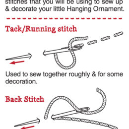 Page 1 - Stitch guide