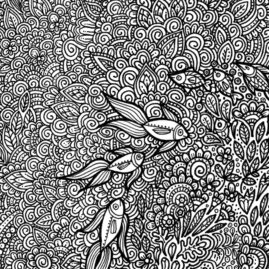 Intricate Pen Doodles