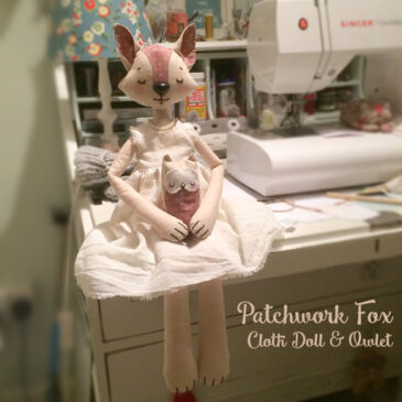 Patchwork Fox Instruction Tutorial